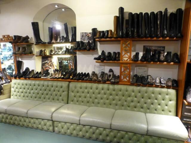 Negozio di scarpe Valentina a Firenze