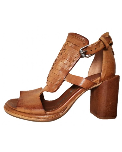 Closed back sandals