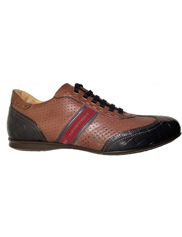 Dress casual shoes, genuine leather