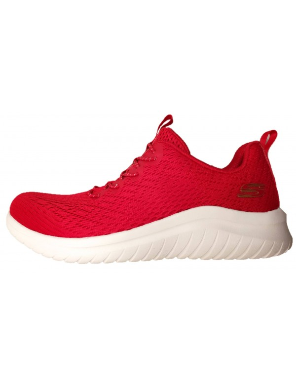 Skechers red shoes ULTRA FLEX line