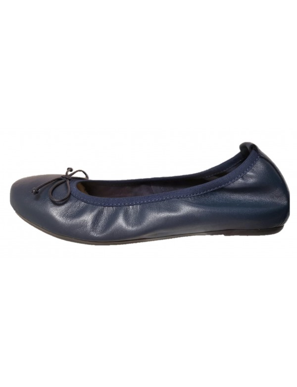 Blue flats for women
