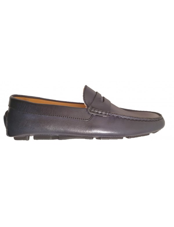 Men's blue loafers