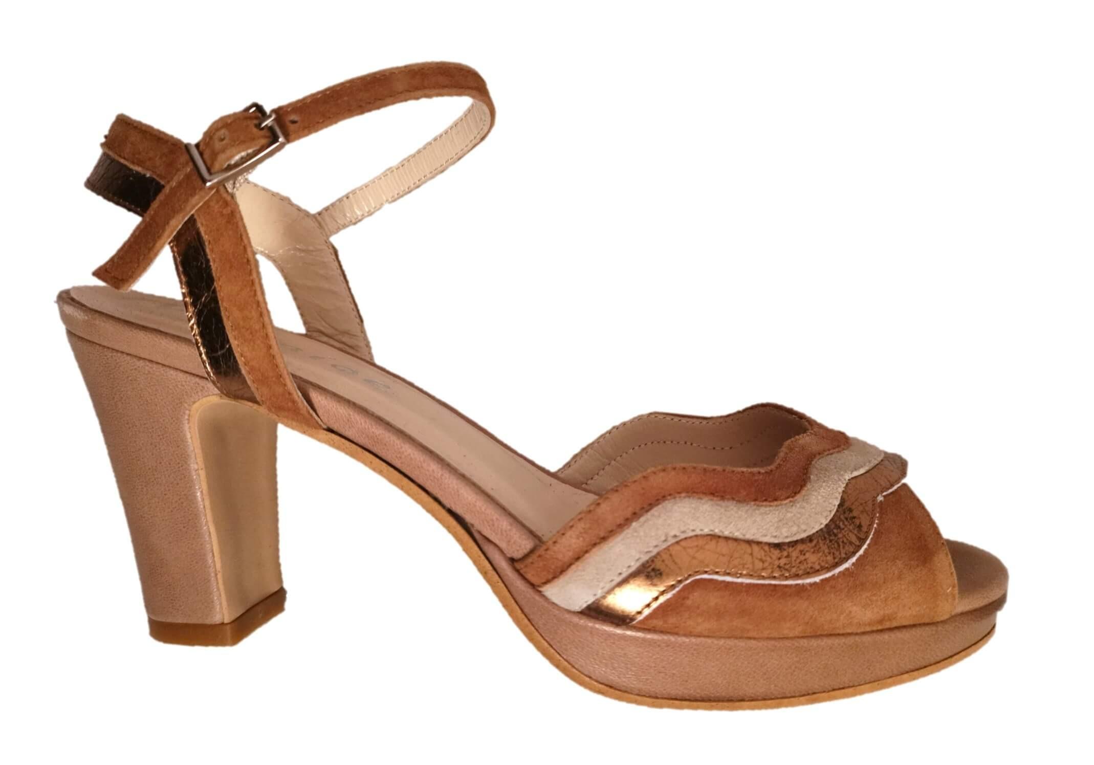Beige Sandals | High Heel | Peep Toe
