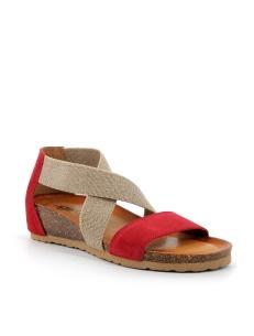 Sandali rossi comodi