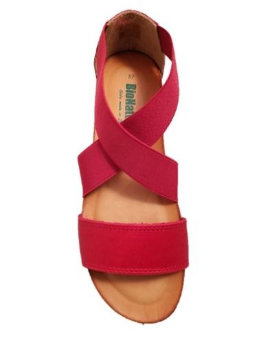 Sandali sportivi donna con elastici, Bionatura