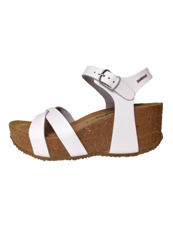 Bionatura white sandals Fregene