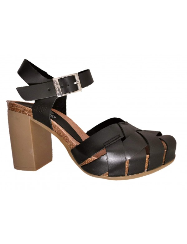 Rubber high heel sandals, Yokono