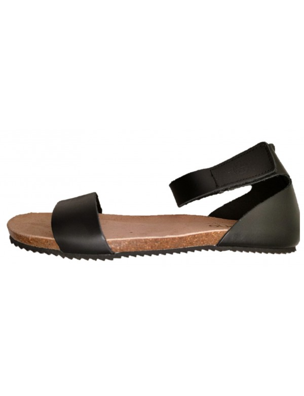 Sandals with strap around ankle