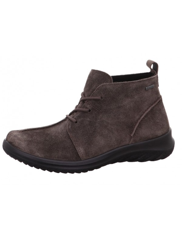 Italian leather low boots for women