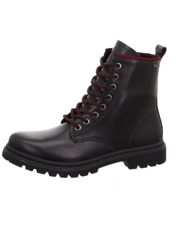Black combat boots for ladies