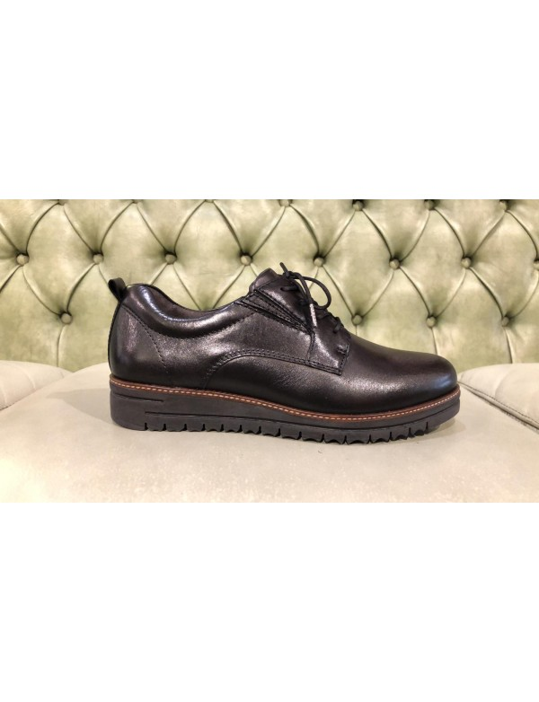 Shoes for Women | Black Leather Lace