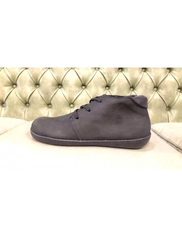 Leather desert boots for men, made in Italy