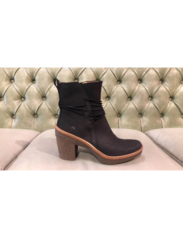 Black booties for women, El Naturalista