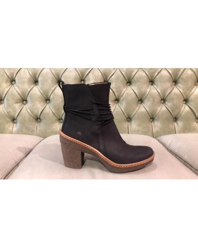 Black booties for women, El Naturalista