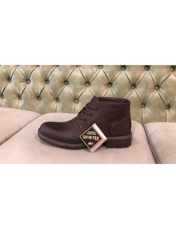Made in Italy ankle boots for men with Gore-Tex