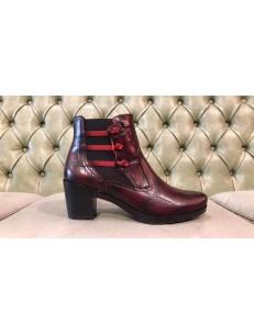 Scarpe rosse con tacco