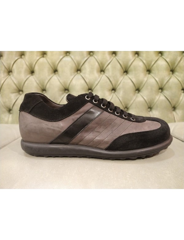 Casual two tone shoes, made in Italy