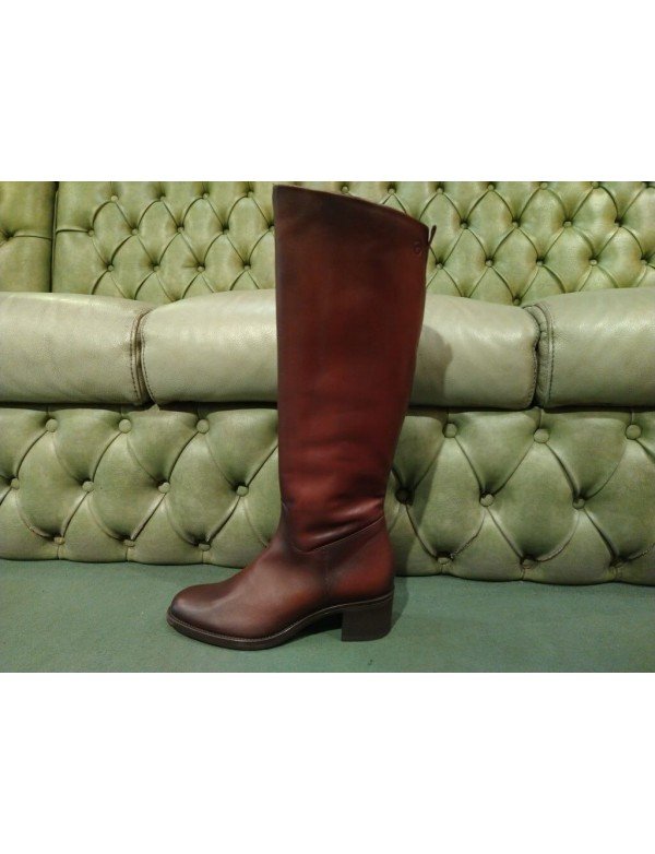 Hhigh boots for ladies, mid heel