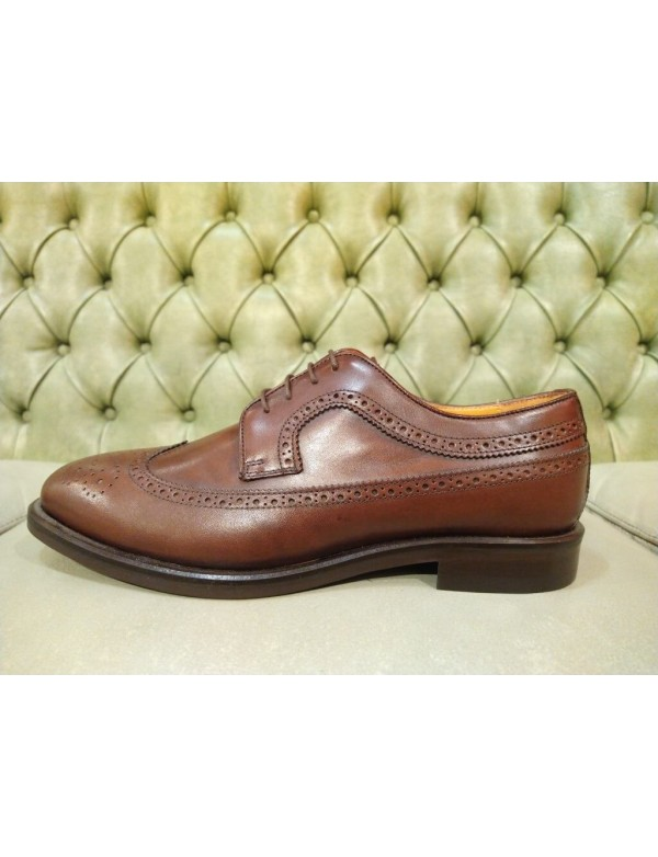 Mens wingtip shoes, made in Italy