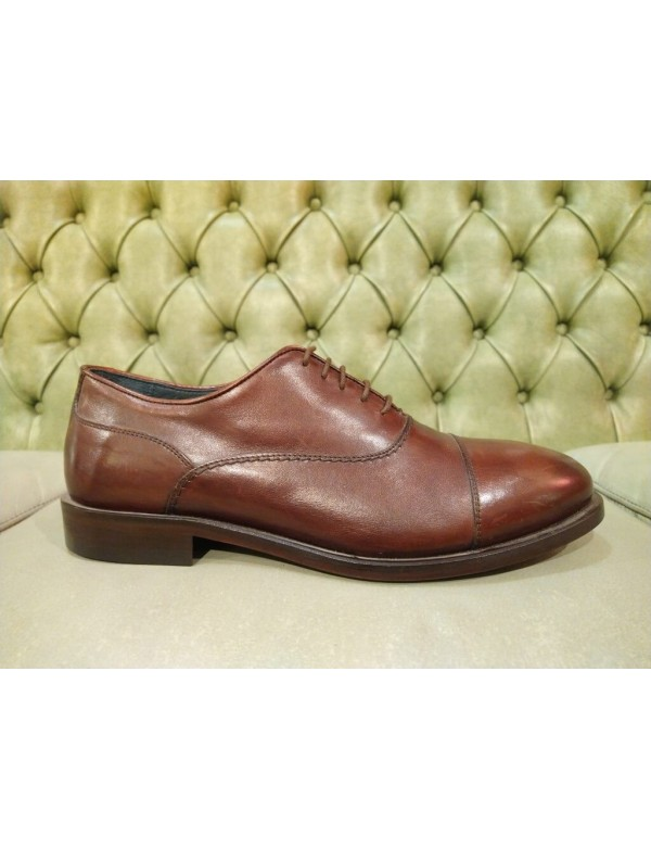 Mercanti fiorentini cap toe oxford, made in Italy