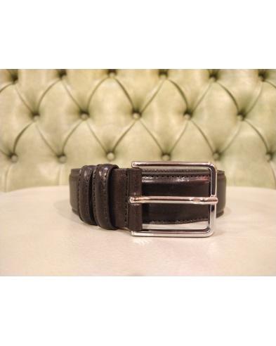 Leather belt for men, handmade in Italy