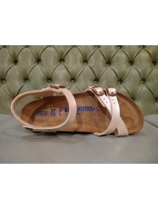 Birkenstock sandalo Kumba bianco perla