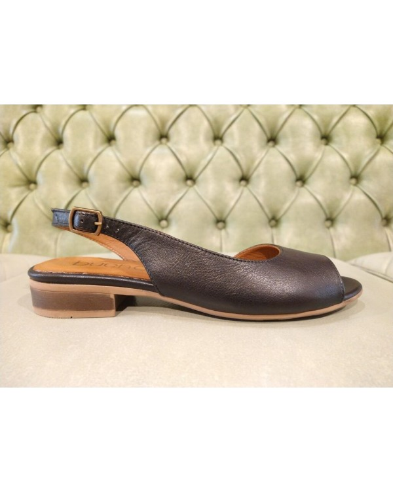 Bueno sandali 2021, pelle nera