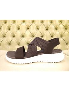 Skechers sandali da donna neri