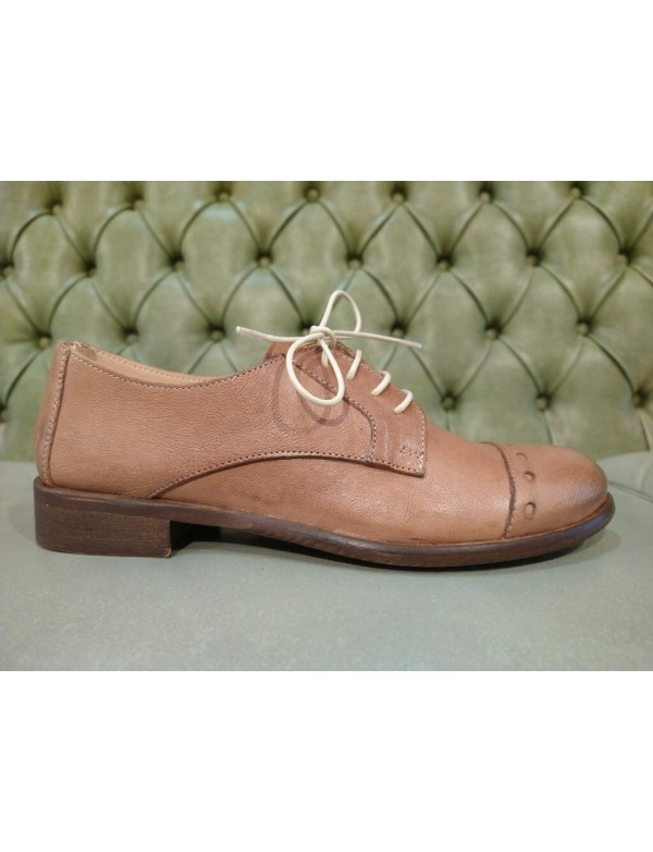 Womens leather lace up shoes