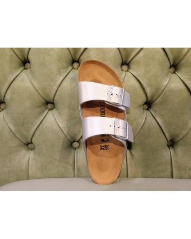 Arizona Birkenstock Sandals, Silver