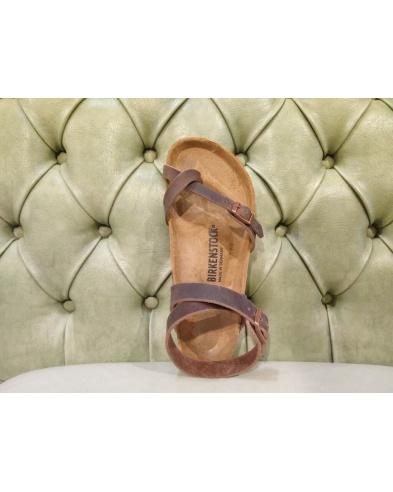Birkenstock leather sandal, Yara