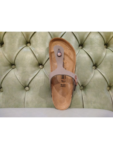 Birkenstock sandalo Gizeh mocca
