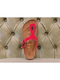 Birkenstock Gizeh thong sandal, tango red