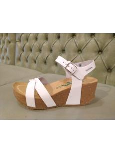 Bionatura white sandals Fregene