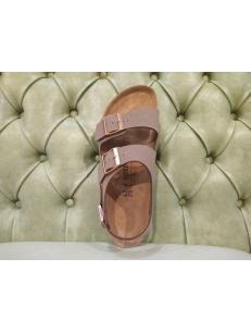 Birkenstock Milano sandal, mocca