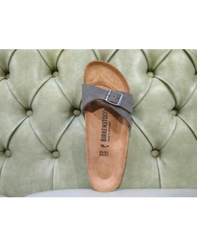 Birkenstock sandalo Madrid brushed emeraldgreen 239923