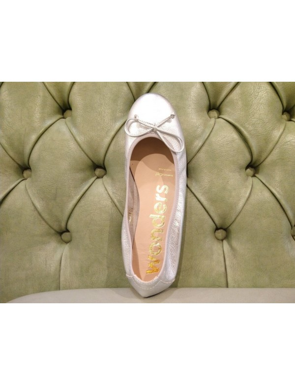 Leather flats shoes for women