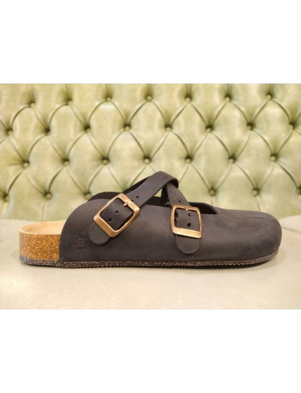 Sabot shoe for woman, made in Italy