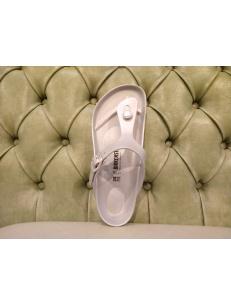 Beach sandals Birkenstock Gizeh EVA, silver