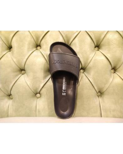 Birkenstock slippers Barbados black