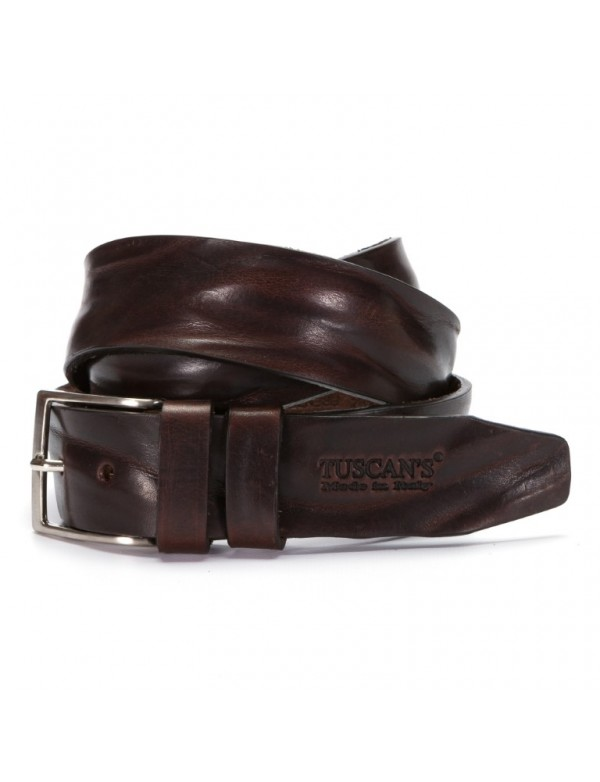Mens belt, high quality leather, made in Italy