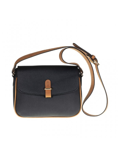 Small Italian leather crossbody bag, Tuscan's