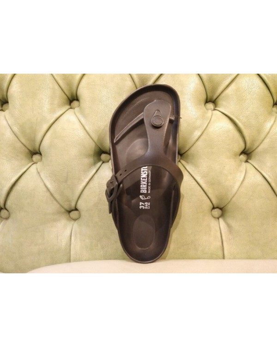 Birkenstock Gizeh thong sandal, black