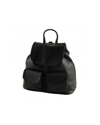 Italian leather backpack, vegetable tan