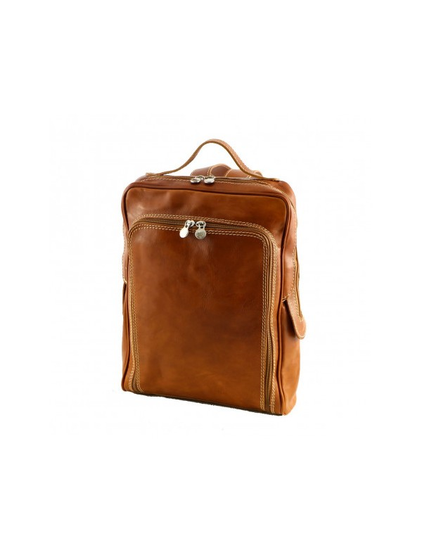 Leather backpack, Italian fashion and design