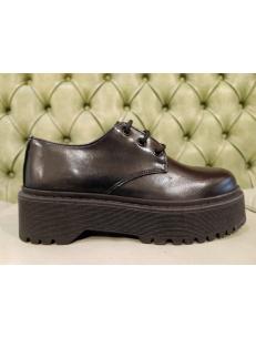 Black platform shoes for women