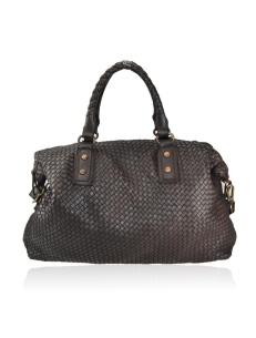 Italian woven leather bags