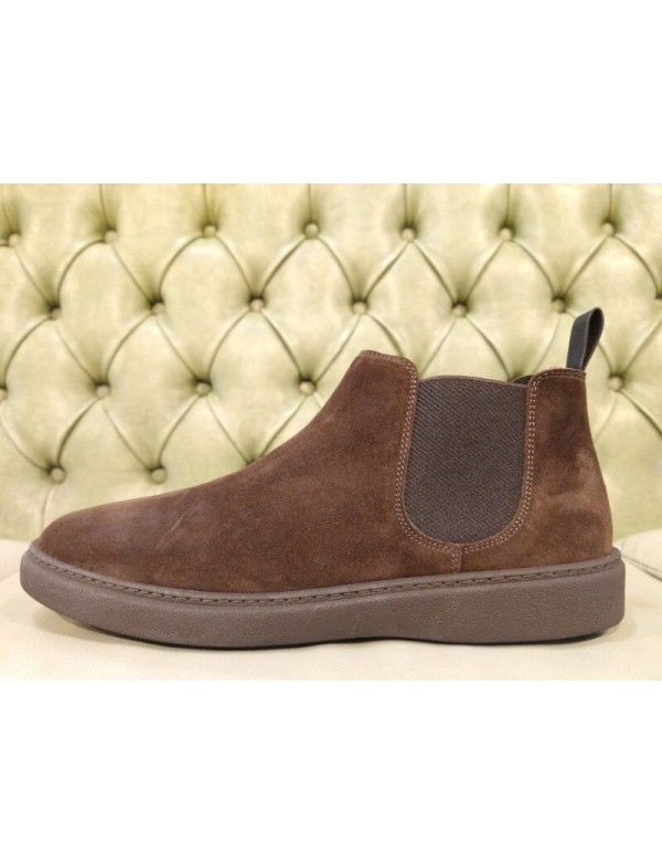 Frau Chelsea ankle boots for men, made in Italy