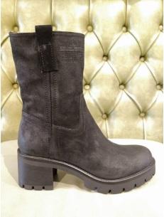 Biker boots with high heel, Manas brand