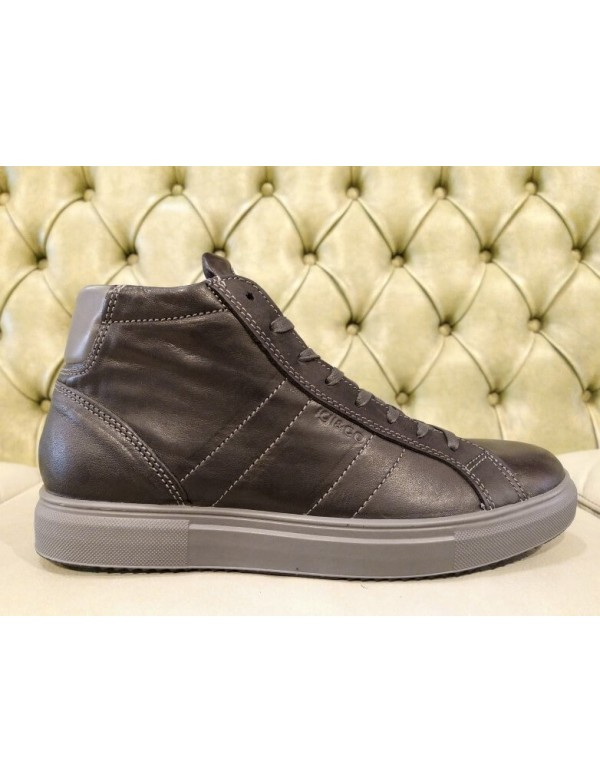 High top sneakers mens fashion, made in Italy